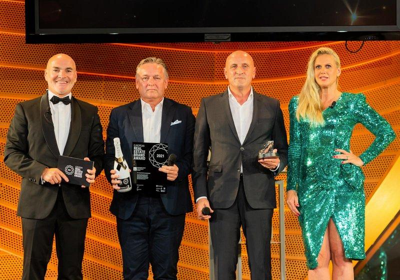 ATP-Partner Horst Reiner und Dario Travaš bei der Verleihung. Foto: EUREB/Lothar Koethe Photography