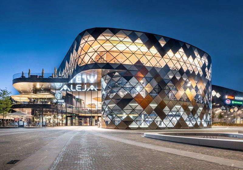 A meeting place: ALEJA, integrally designed with BIM by ATP. Photo: ATP/Pierer
