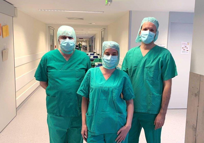 Во время визита команда ATP посетила существующие операционные помещения в больнице Нюрнберг-Зюд. Фото: ATP