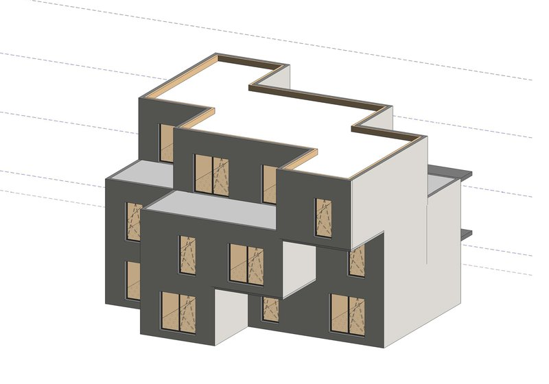 Test project in Revit: ATP