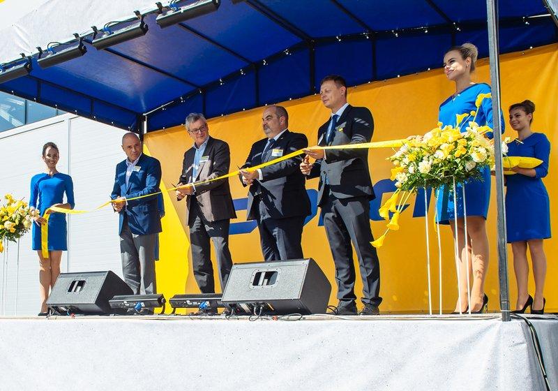 Feierliche Eröffnung – das von ATP geplante Doka-Werk in Lipezk ist fertiggestellt. Foto: Doka