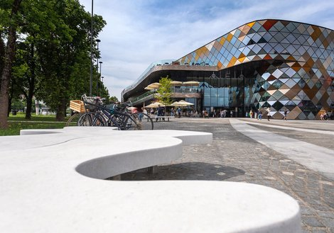 Opened in May: ALEJA Shopping Center in Ljubljana. Photo: Jost Gantar/VELIKA