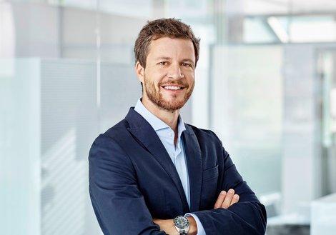 Architekt Paul Ohnmacht ist Head of Design und Experte für moderne Bürowelten bei ATP Innsbruck. Foto: ATP/Becker