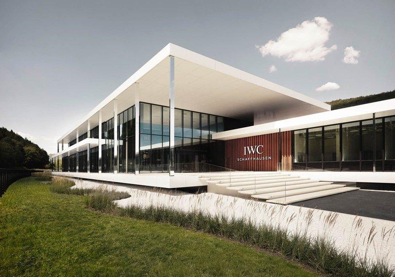 Von ATP architekten ingenieure integral mit BIM geplant: IWC Manufakturzentrum. Foto: IWC Schaffhausen