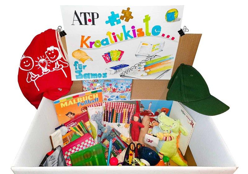 The ATP Creative Crate. Photo: ATP/Saitner-Zangerl