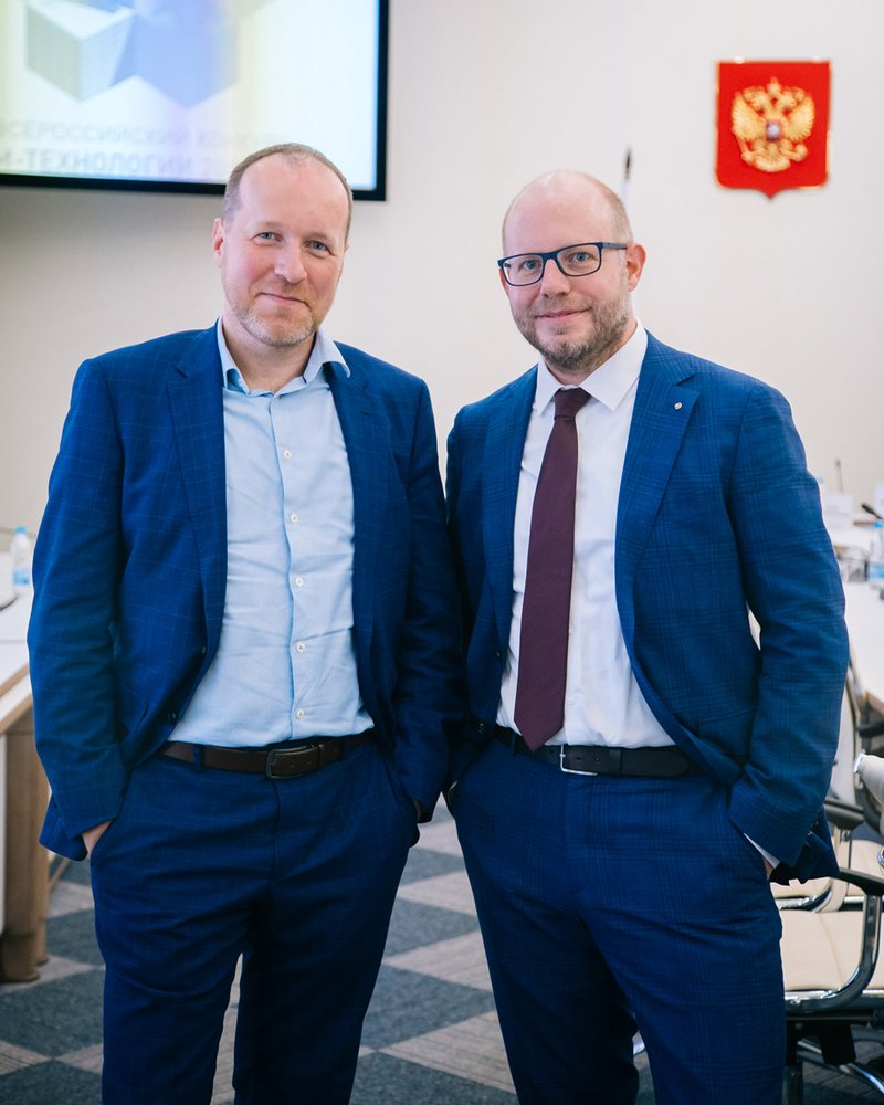 Kai-Uwe Reitmann (right) joins Vladimir Horton (left) at the head of ATP's Moscow office. Photo: ATP