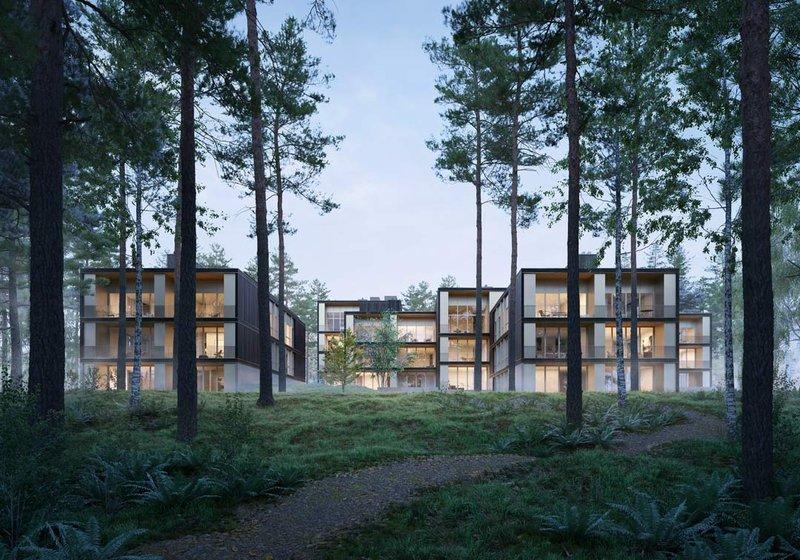 Die Marina Apartments versprechen Ruhe und Erholung. Visualisierung: bloomimages