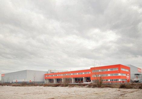 Das neue Logistikzentrum von Gebrüder Weiss bei Zagreb. Foto: ATP/ Ivan Banić