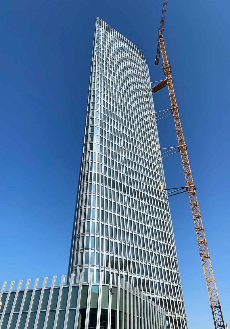 At 135 m, the Austro Tower is Austria's fifth-highest building. Photo: ATP