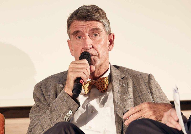 ATP-CEO Christoph M. Achammer am Podium der Solid Konferenz. Foto: Thomas Topf