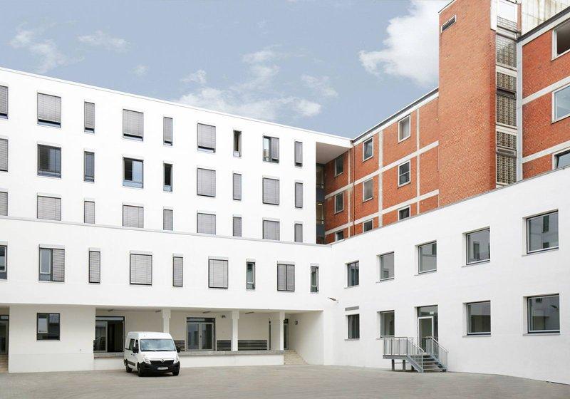 Больница в г. Лауф-ан-дер-Пегниц. Фото: ATP/Wang