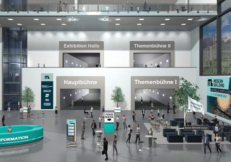 ATP auf der virtuellen MODERN BUILDING. Foto: Modern Building