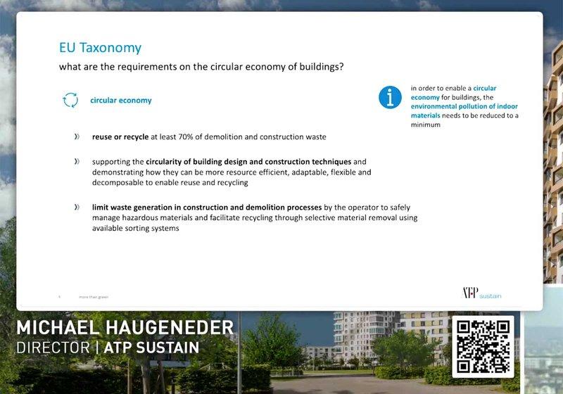Video isječak iz izlaganja. Screenshot: Vanjska trgovina Austrija
