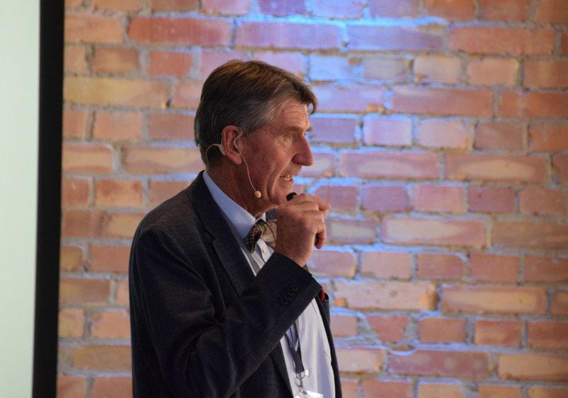 Christoph M. Achammer auf der Design & Build Konferenz. Foto: Rueckerconsult