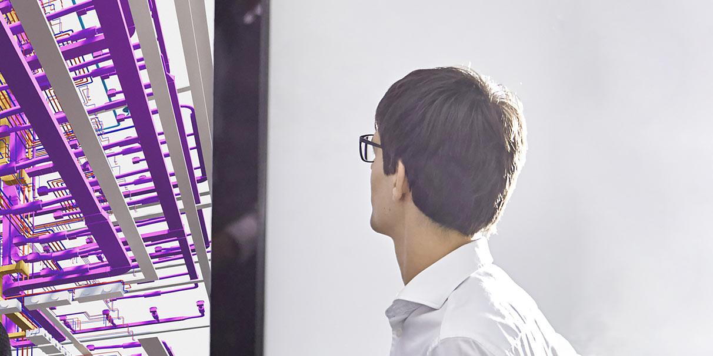 Gebäudetechnik mit Building Information Modeling bei ATP architekten ingenieure
