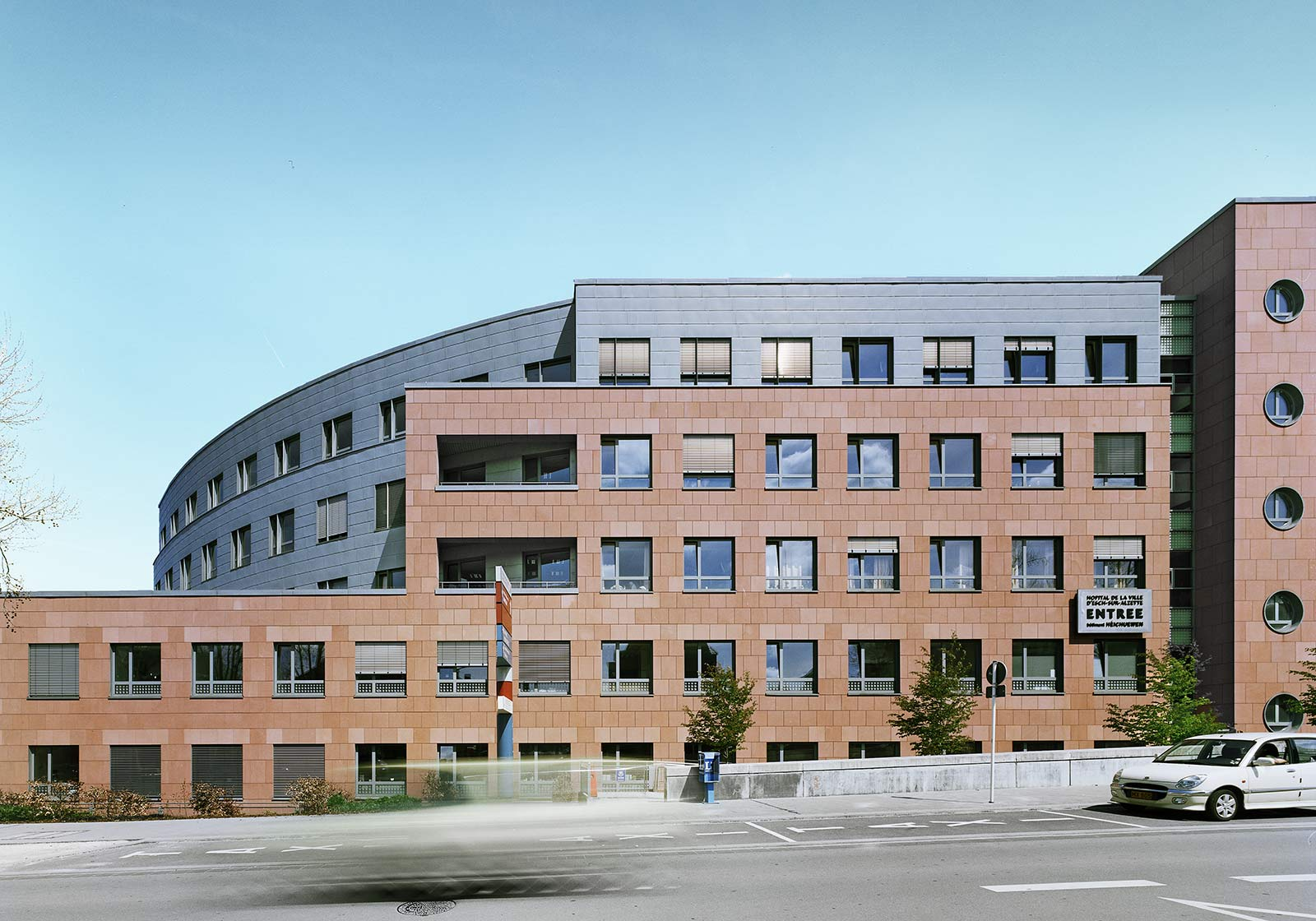 Hôpital de la Ville, Esch-sur-Alzette, Люксембург