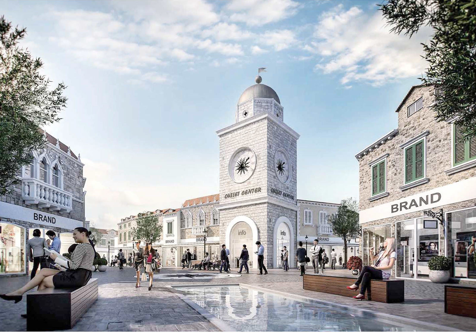 Designer Outlet Croatia, Загреб