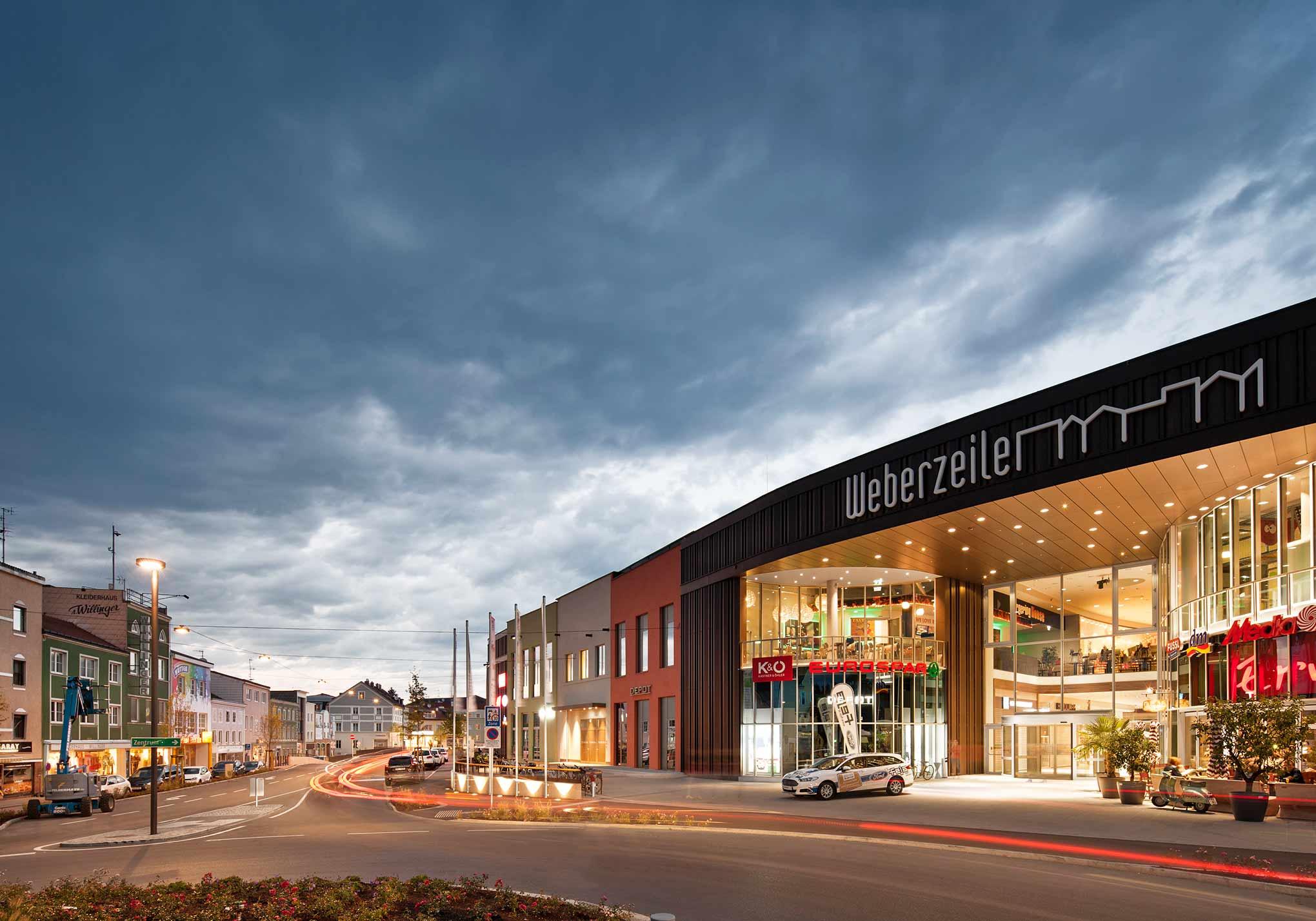 Торговый центр Weberzeile, Рид (Австрия)
