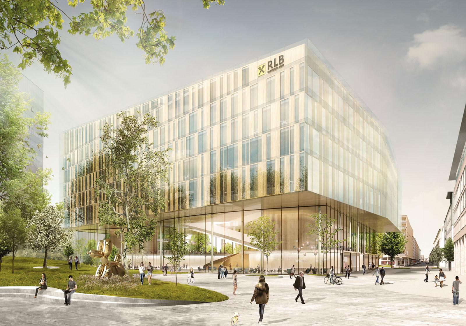 Das Gebäude spiegelt den werthaltigen Charakter des Unternehmens wider. Visualisierung: ATP