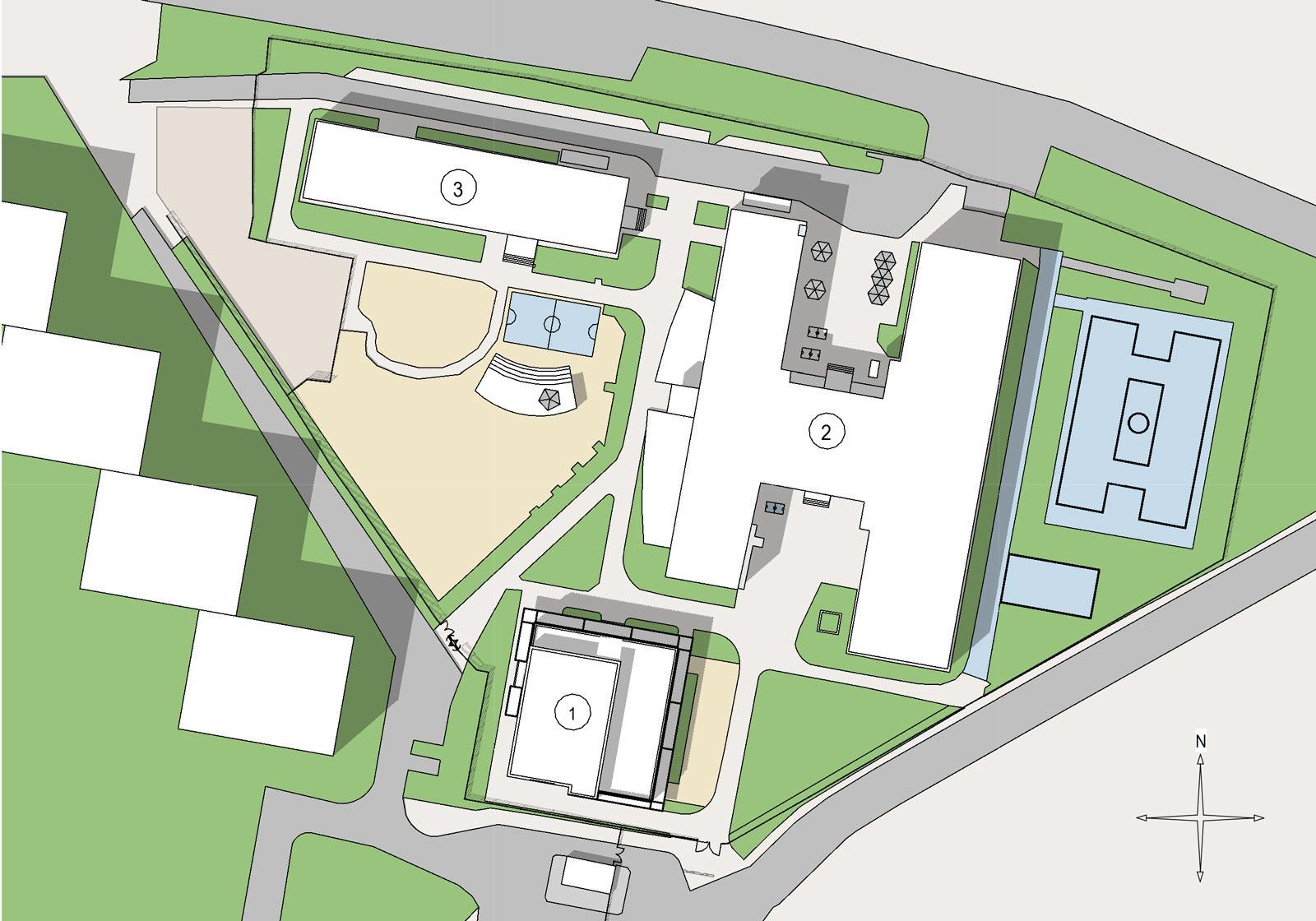 Site plan. ATP TLP