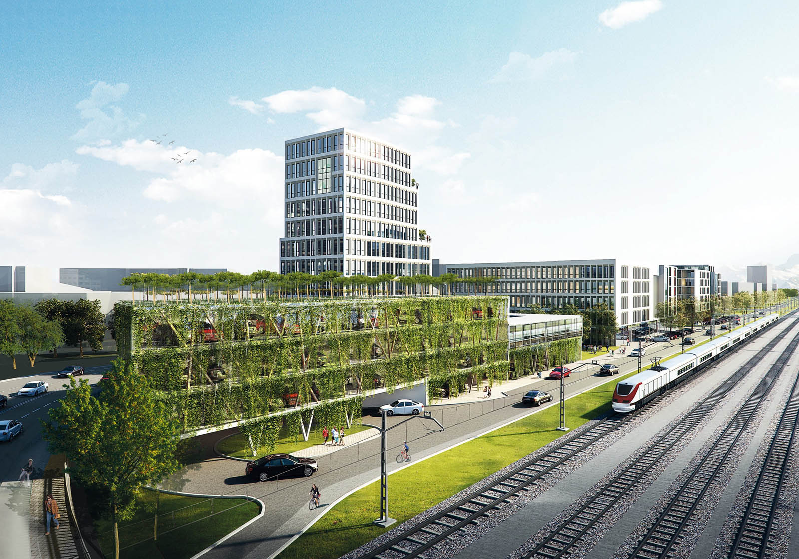 North Station Site, Rosenheim, DE