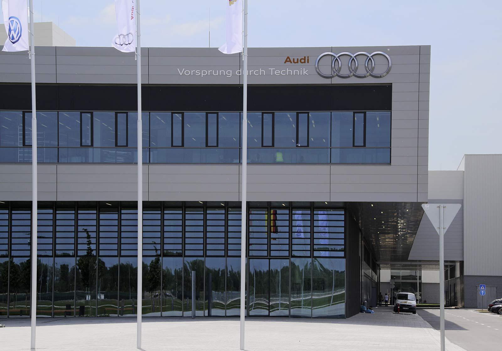 AUDI, центральное здание G70, Дьёр
