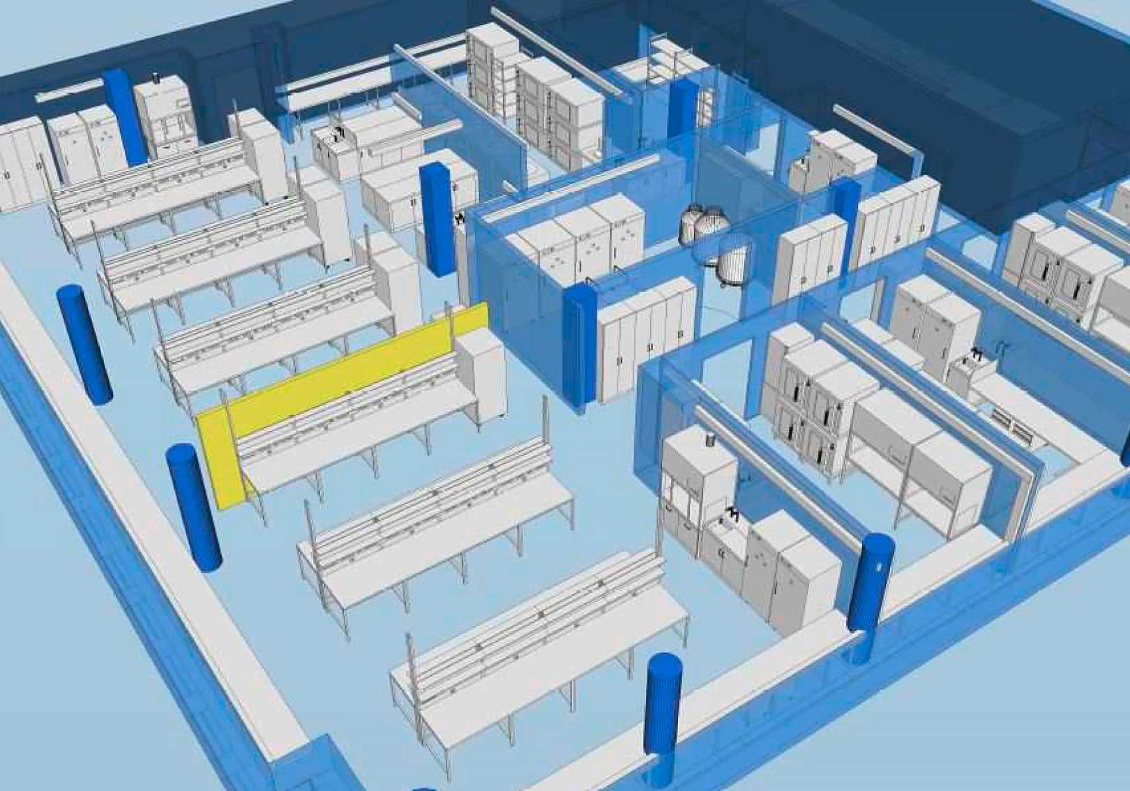 Laboratory design with BIM