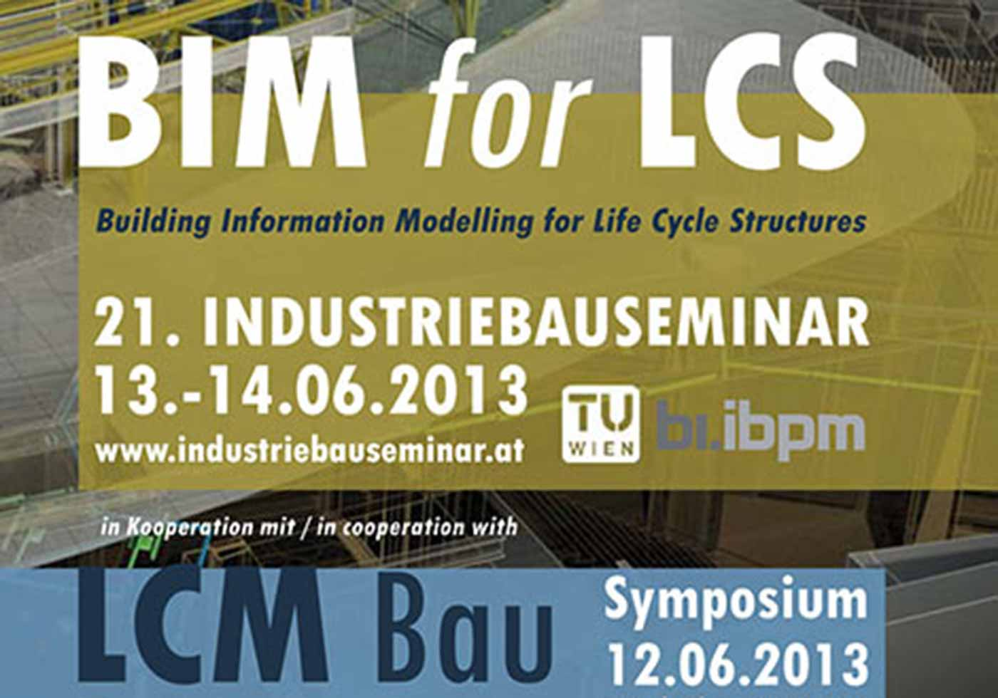 "Industrial Building Seminar ""BIM for Life Cycle Structures"""