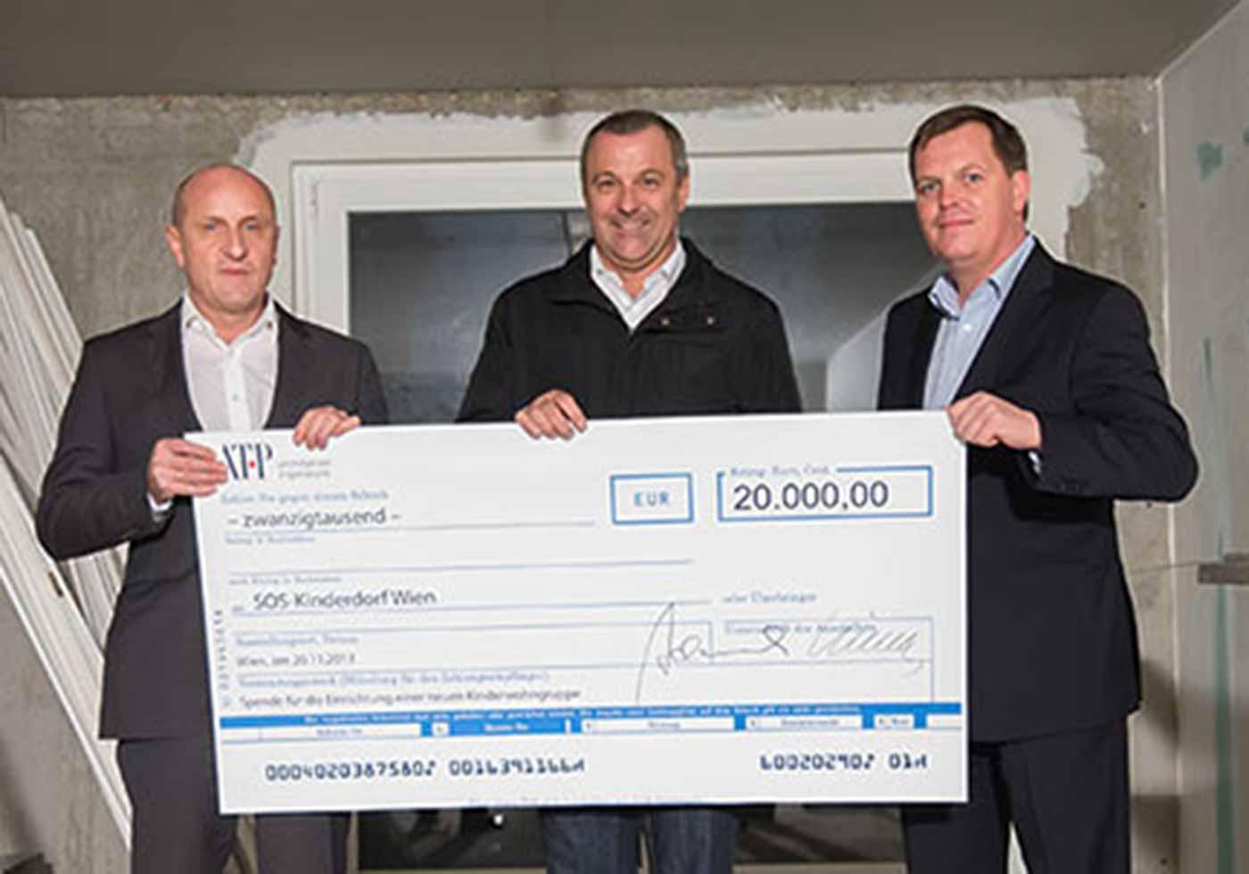 ATP Christmas Donation 2013