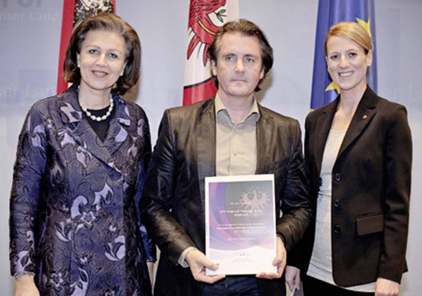 ATP Innsbruck: Familienfreundliches Unternehmen