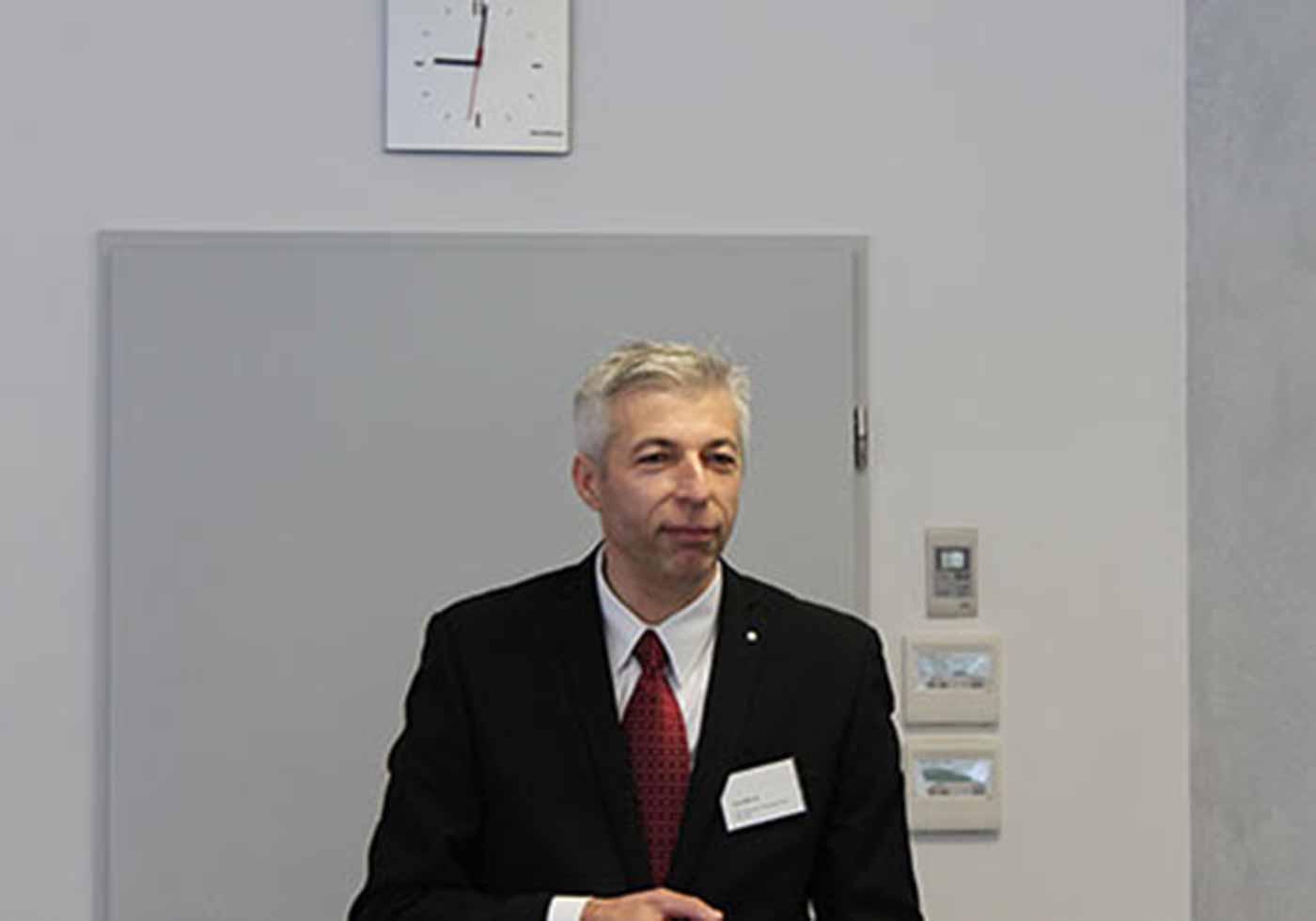 Gerd Maurer sprach im Rahmen einer Veranstaltung der AGI Süd