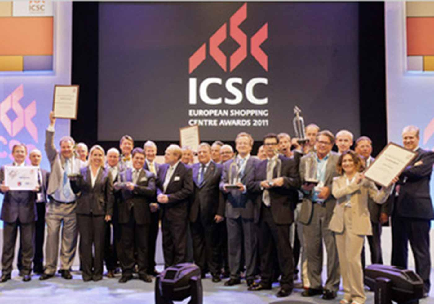 ICSC Jury with ATP CEO Christoph M. Achammer