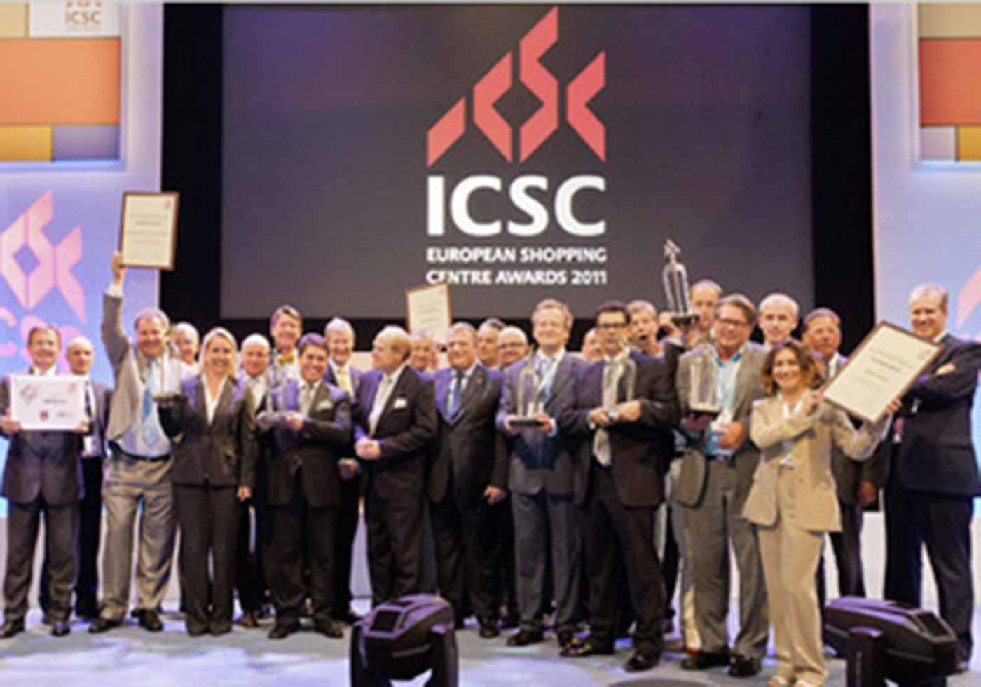 ICSC-Jury mit ATP-CEO Christoph M. Achammer