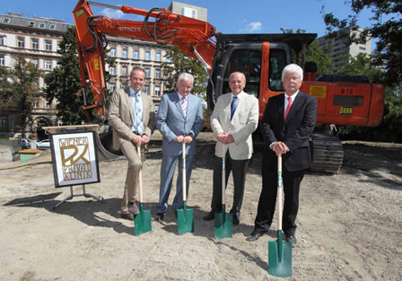 Groundbreaking Ceremony for the Lazarettgasse Health Service Center