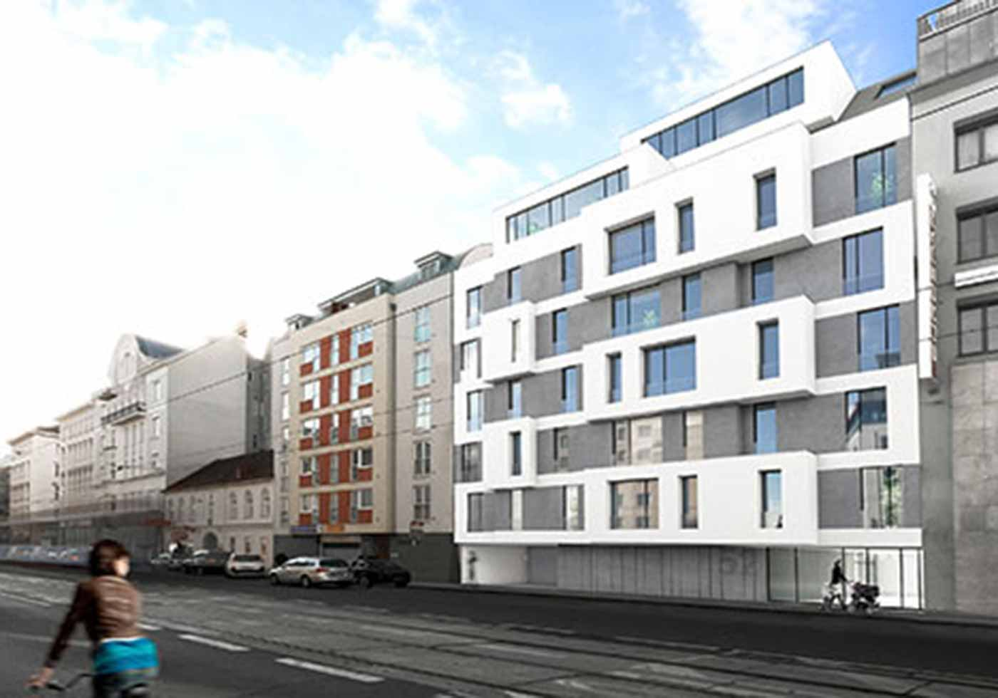 ATP Vienna: 1st Prize for residential Building in Vienna's 3rd District