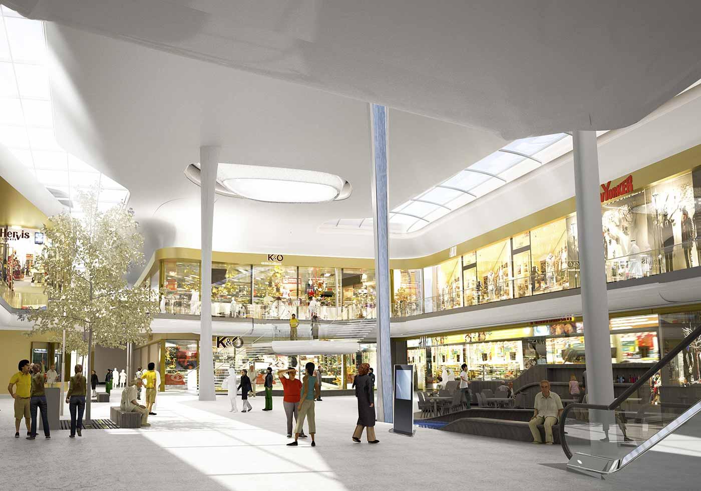 Innerstädtisches Shopping Quartier in Ried vorgestellt