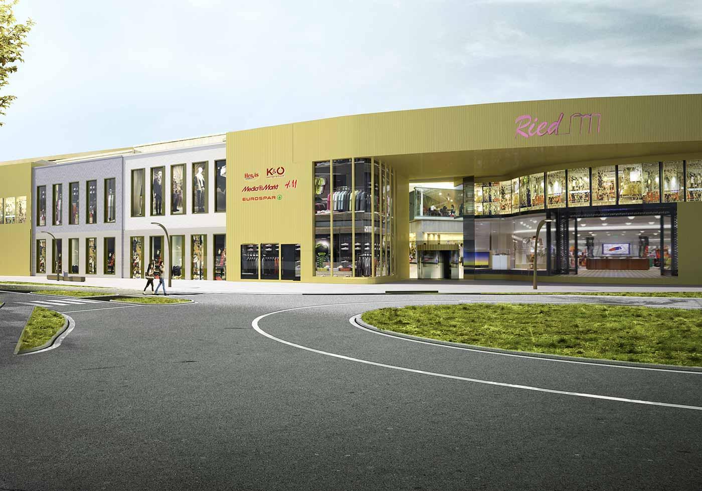 """Grundsteinlegung für SES-Einkaufszentrum """"Weberzeile"""" in Ried"""