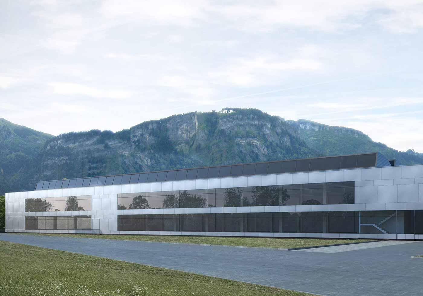 ATP plante Produktions- und Verwaltungsbau für Zumtobel