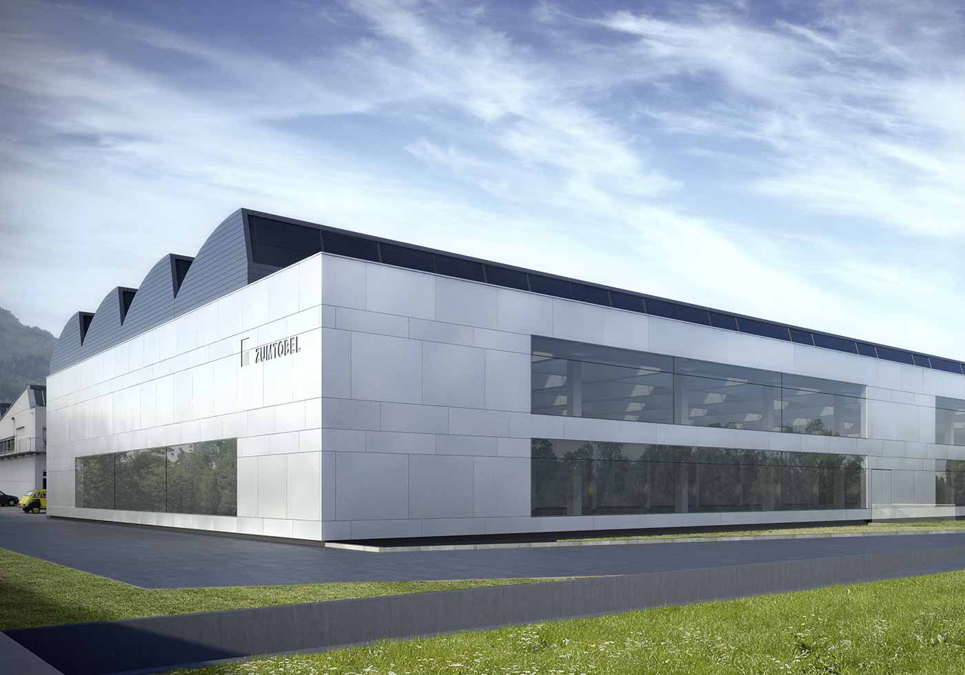 LED-Produktionsgebäude eröffnet