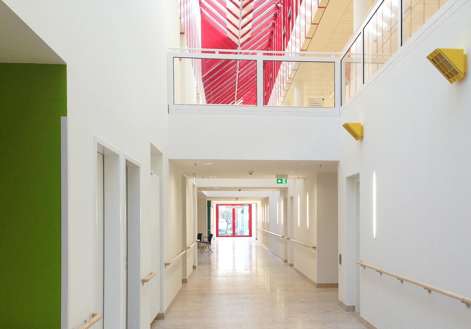 Светлый и гостеприимный новый блок палат. Источник фото: ATP