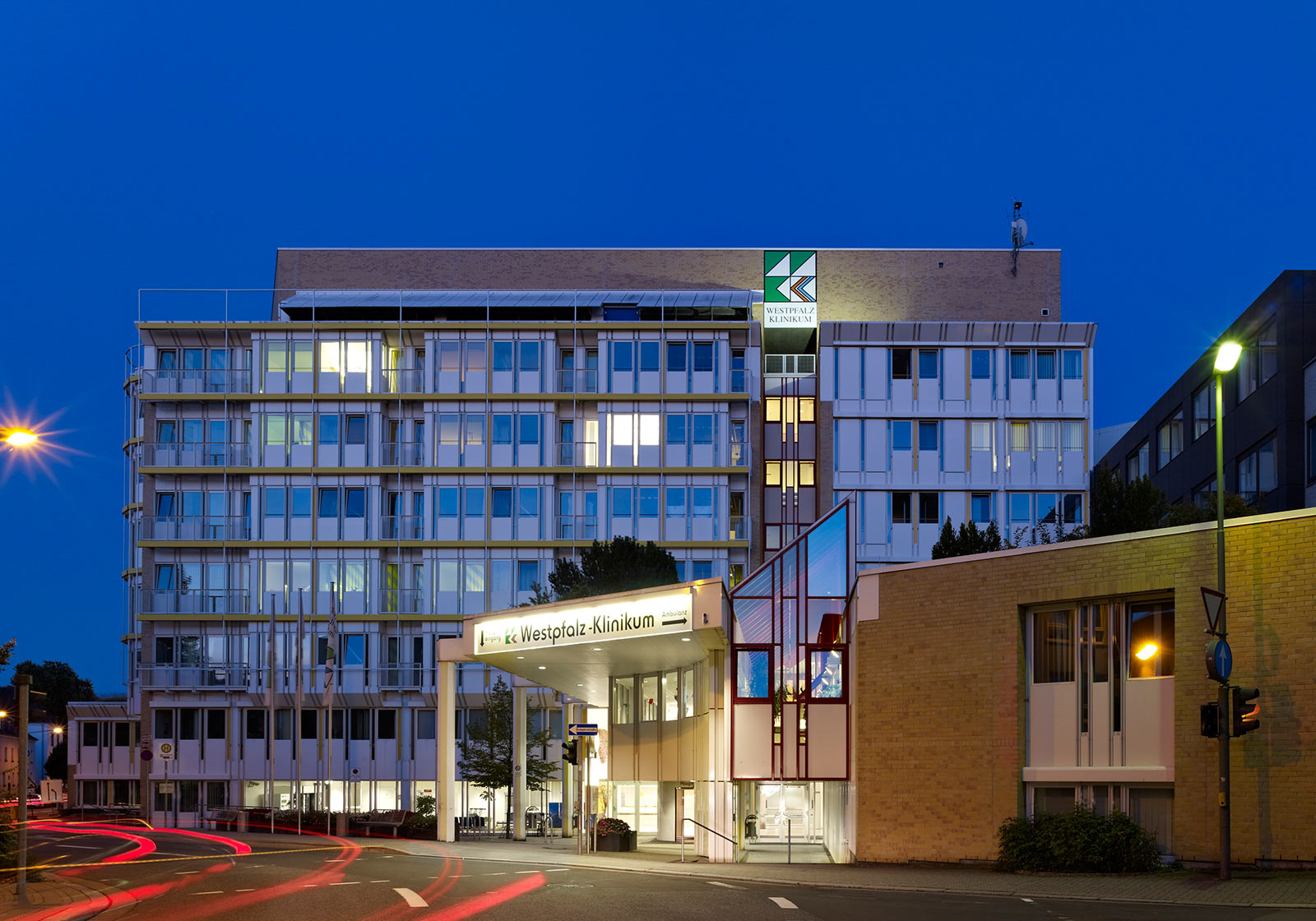 ATP health is planning the general refurbishment of the Westpfalz Clinic in Kaiserslautern. Photo: ATP