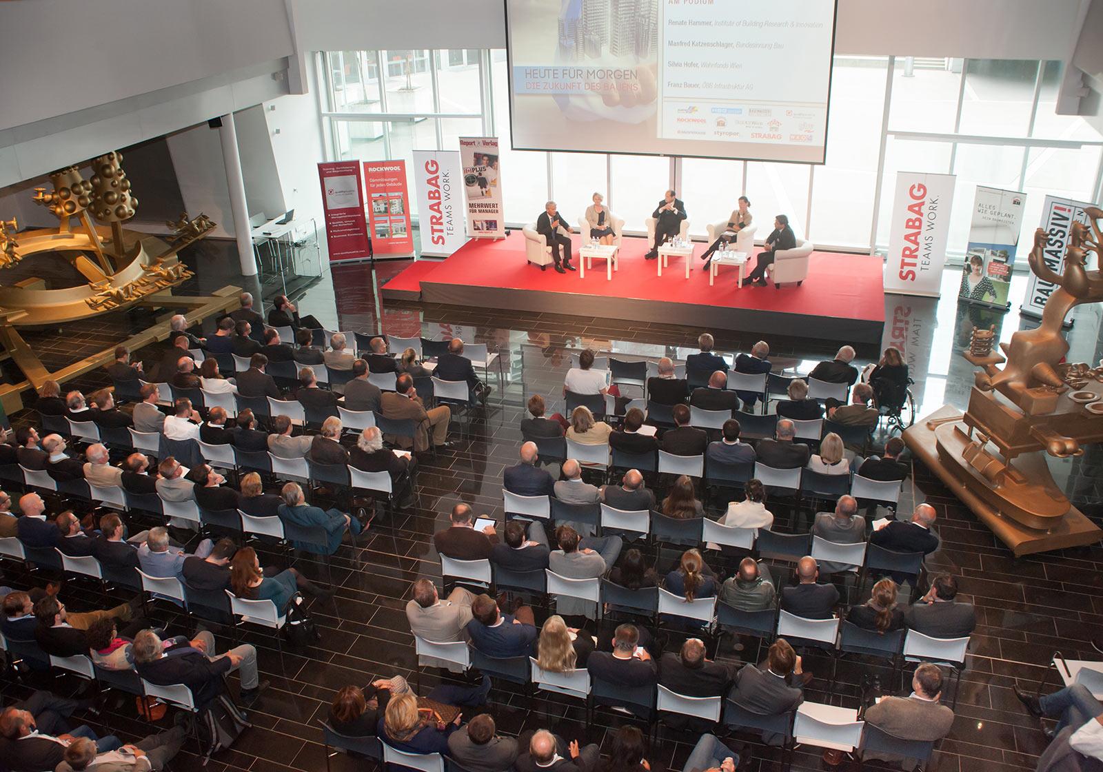 Конференция «Возможности зданий». Источник фото: Milena Krobath