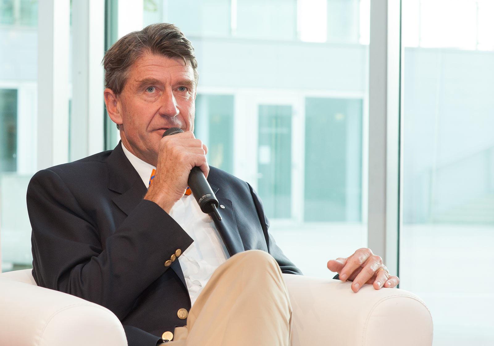 ATP CEO, Professor Christoph M. Achammer. Photo: Milena Krobath