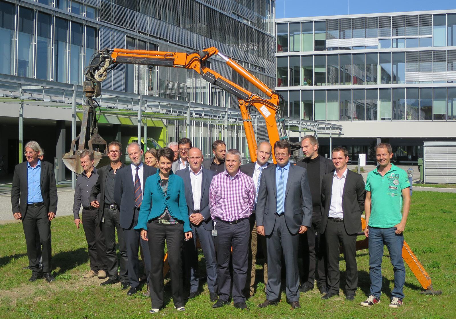 ATP на церемонии закладки фундамента здания Infineon