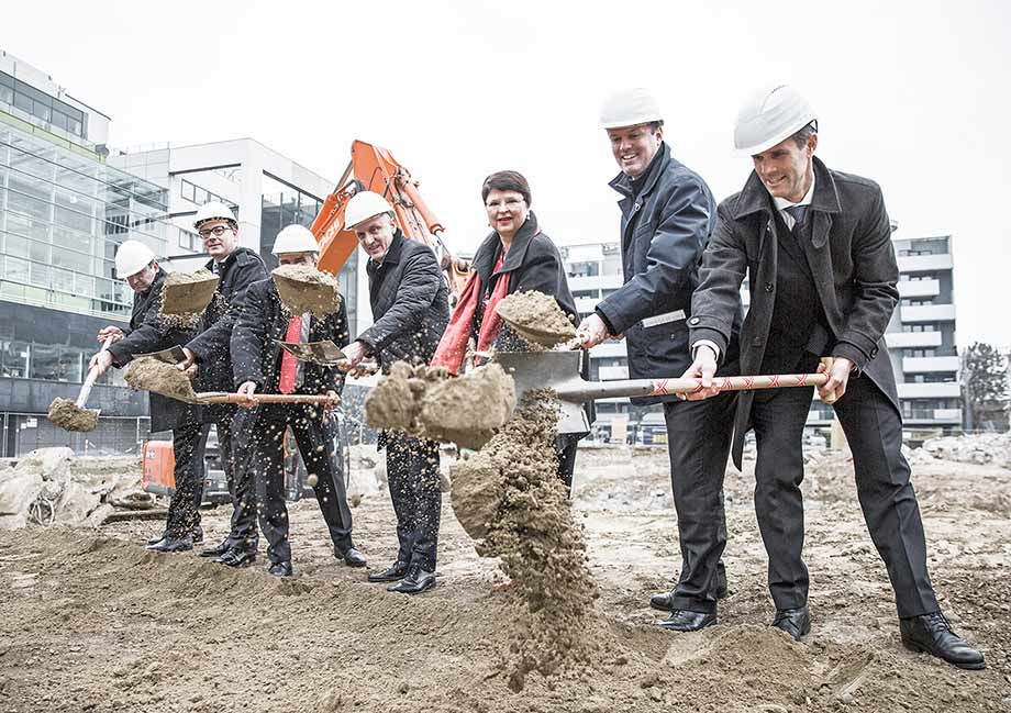Laboratory of the future - groundbreaking ceremony