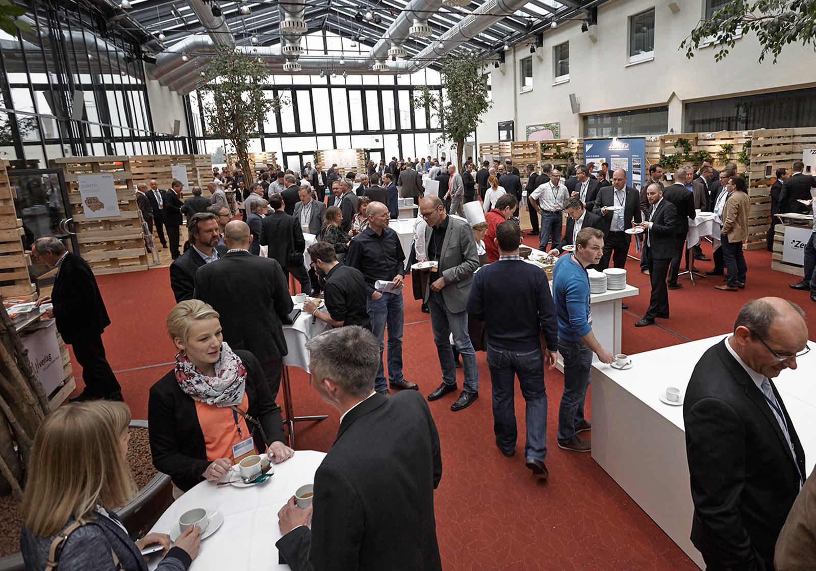 Around 500 guests used the event as an opportunity to network. Photo: DAIKIN