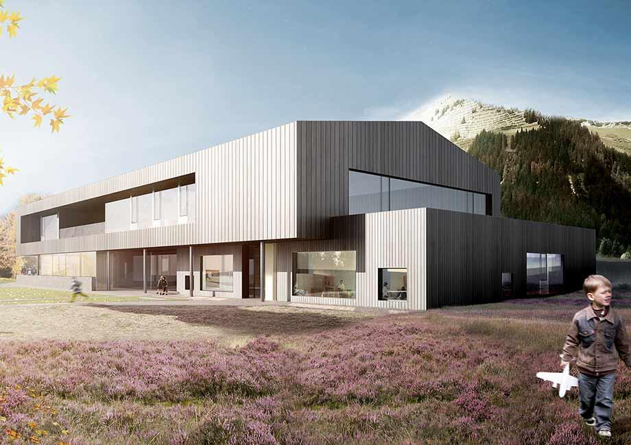 Spatenstich Bildungszentrum Holzgau