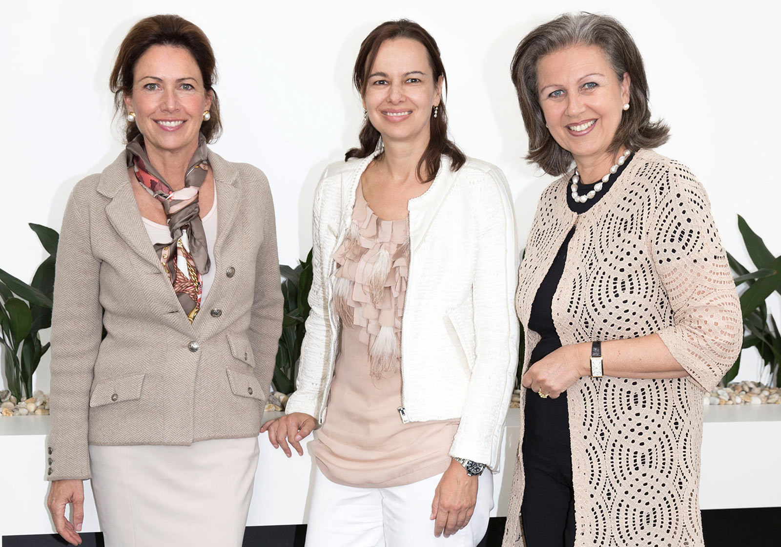 """Girl Power: Barbara Achammer, Sophie Karmasin and Patrizia Zoller-Frischauf in an intense discussion on the subject of """"Careers with Children"""""""