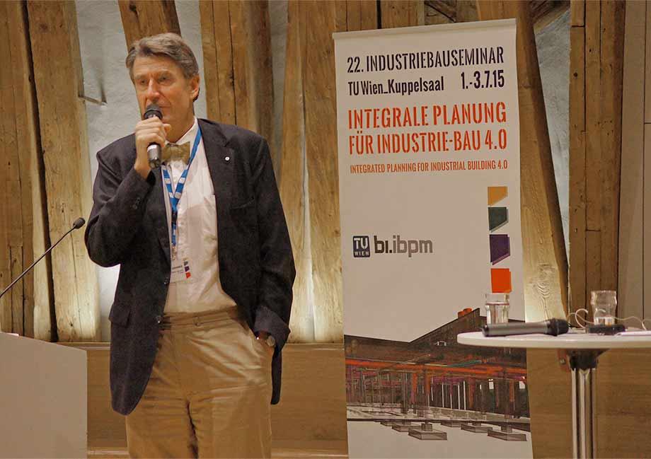 Industriebauseminar zum Thema Integrale Planung für Industrie-Bau