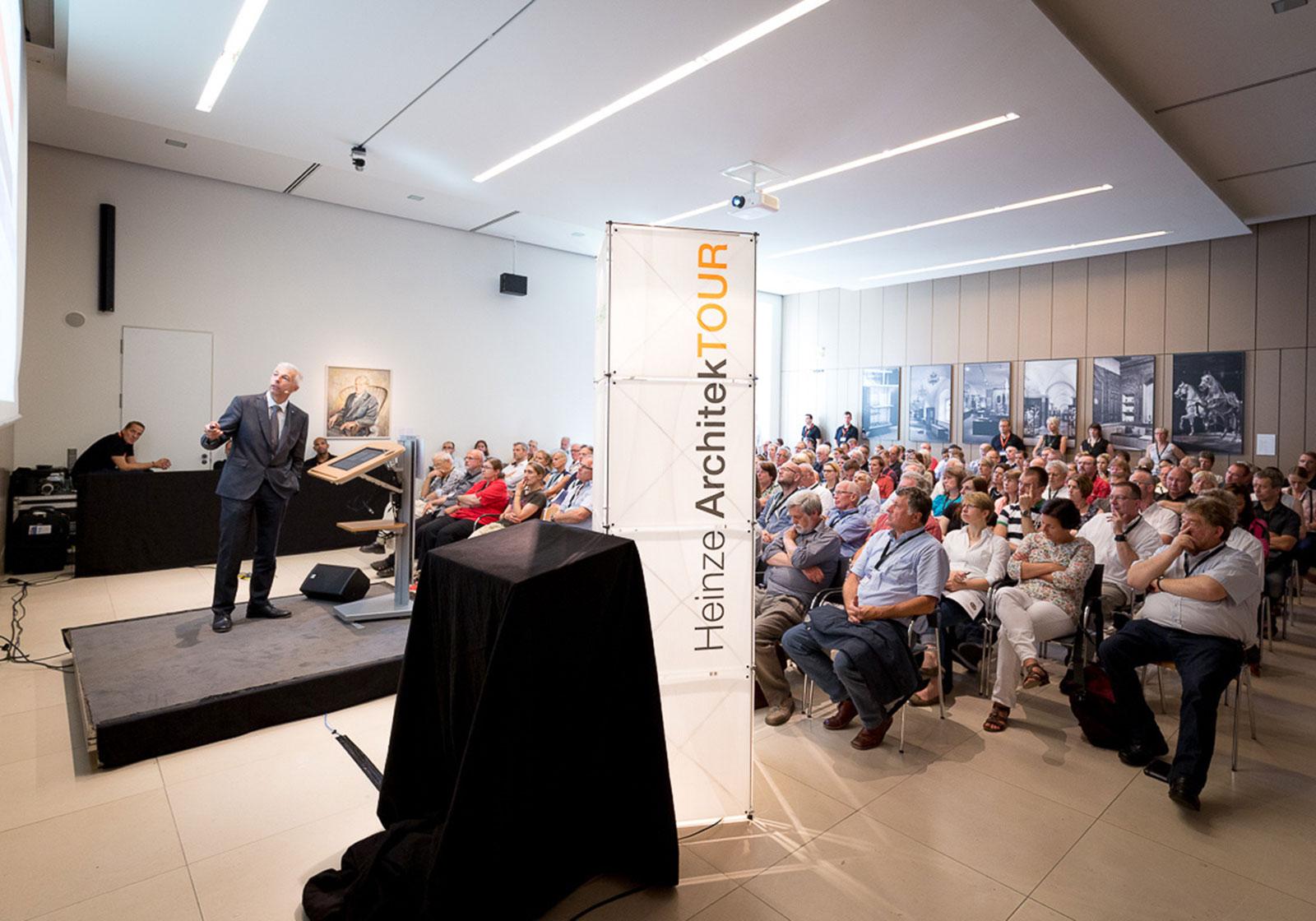 Bereits zum sechsten Mal tourte die Heinze ArchitekTOUR mit interessanten Vorträgen durch Deutschland. Foto: Heinze GmbH, Celle.
